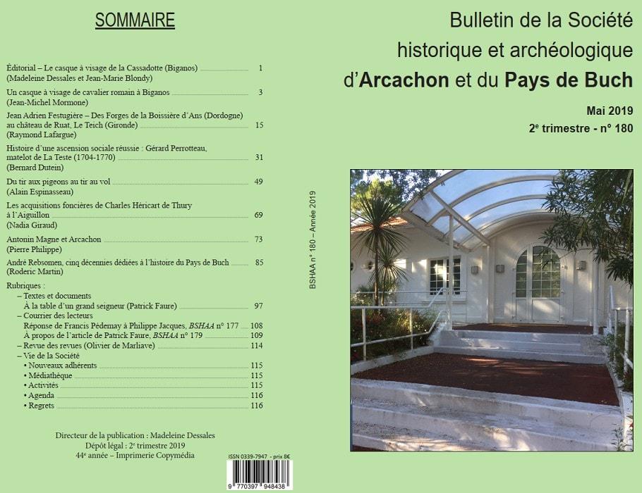 Bulletin n°180 Mai 2019