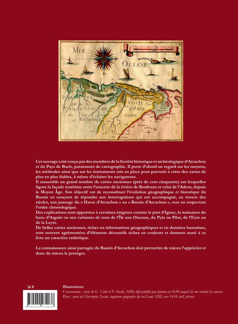 Ouvrage Cartes Anciennes du Bassin d'Arcachon