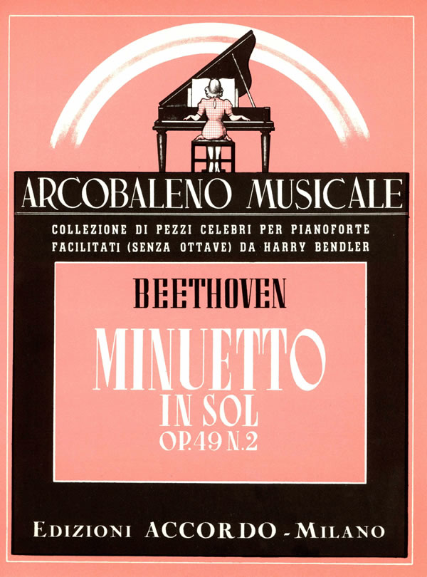 Minuetto in Sol op. 49 n. 2