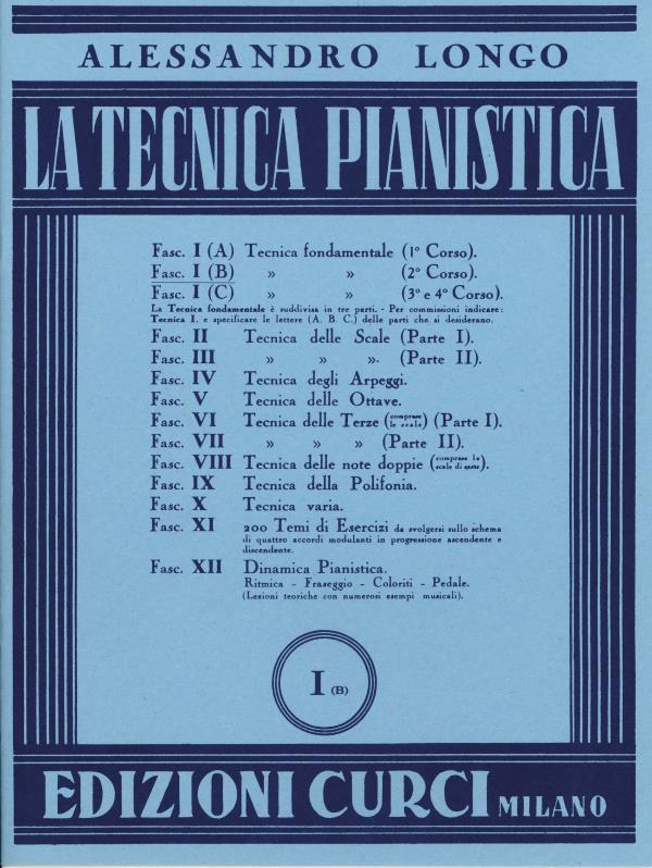 La tecnica pianistica