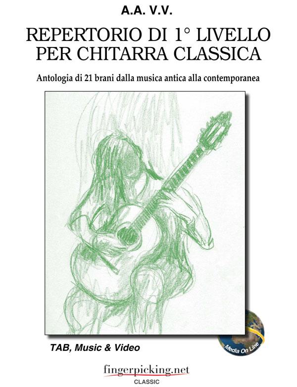 Repertorio di 1° livello per chitarra classica
