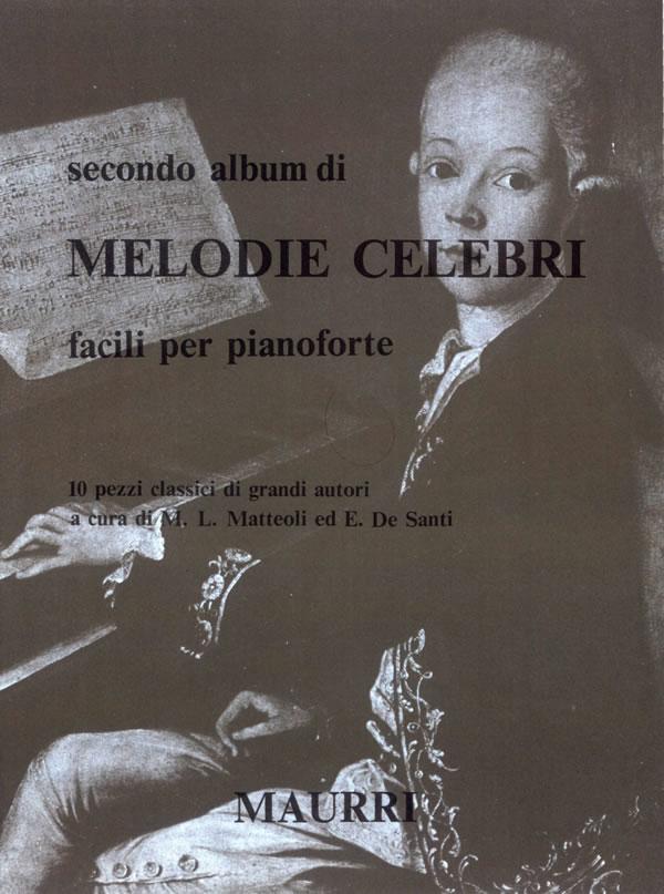 Secondo album di melodie celebri facili per pianoforte