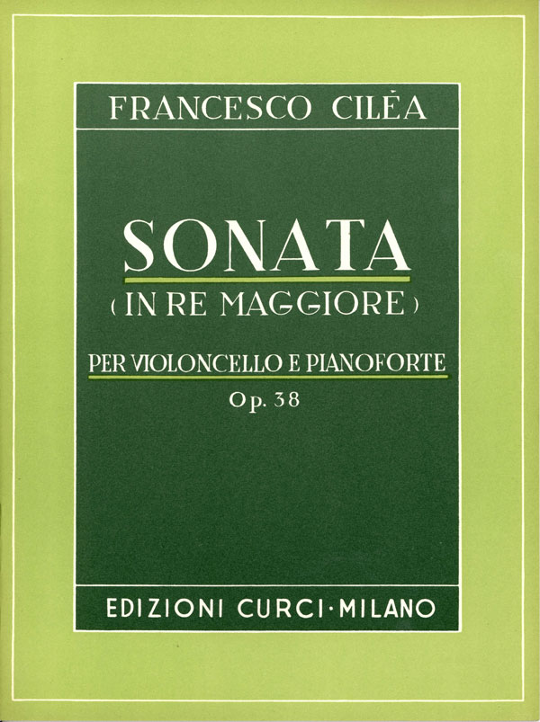 Sonata in Re magg. op. 38