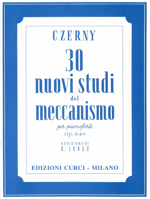 30 nuovi studi del meccanismo op. 849