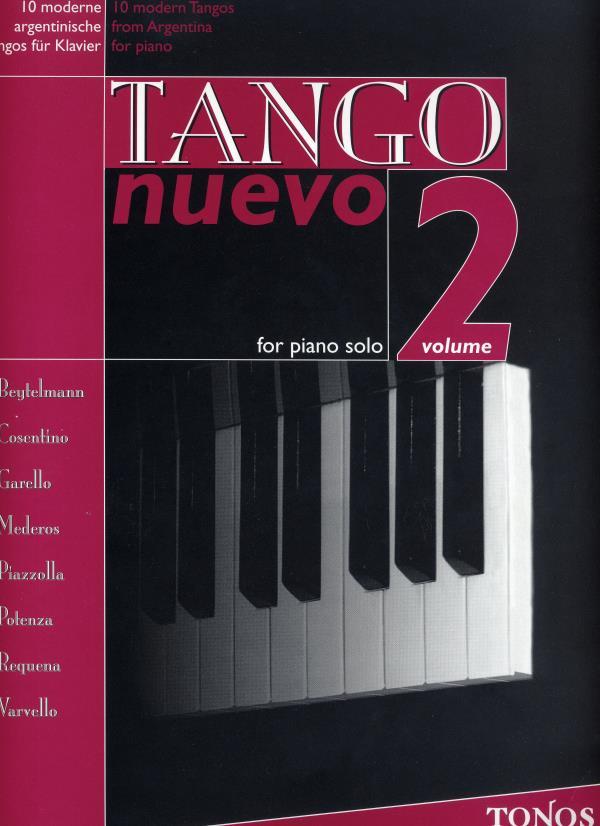 Tango nuevo for piano solo Vol. 2