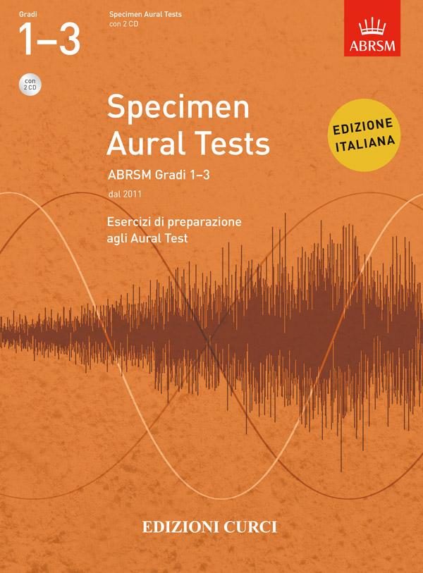 Specimen Aural Tests ABRSM Gradi 1-3