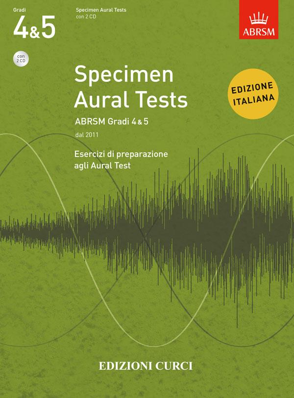 Specimen Aural Tests ABRSM Gradi 4&5
