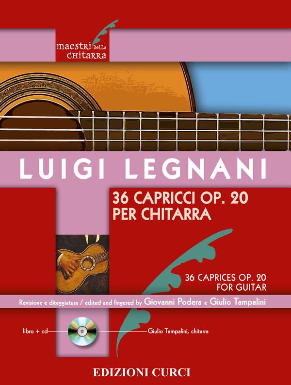36 Capricci op. 20 per chitarra