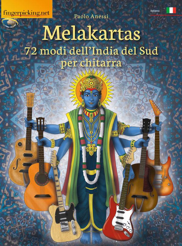 Melakartas - 72 modi dell'India del Sud per chitarra