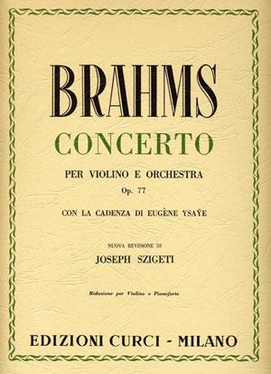 Concerto per violino e orchestra in Re magg. op. 77