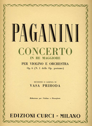 Concerto per violino e orchestra in Re maggiore op. 6