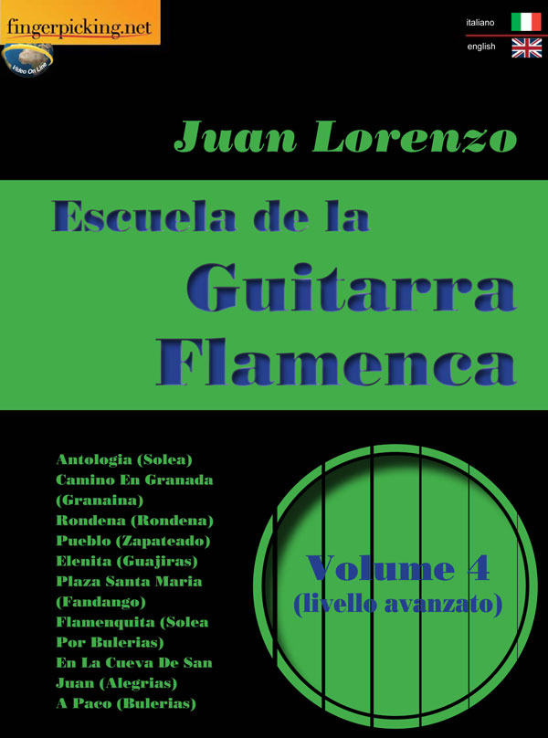Escuela de la Guitarra Flamenca [italiano/inglese]