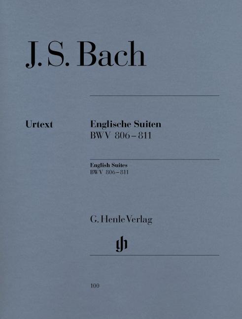 English Suites BWV 806-811
