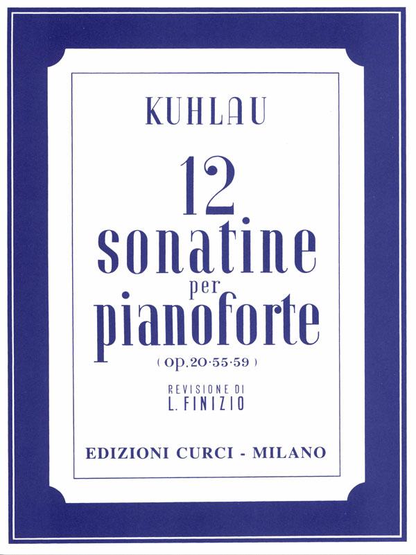 12 Sonatine op. 20-55-59