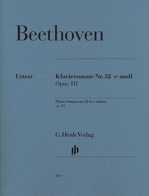 Piano Sonata no. 32 c minor op. 111