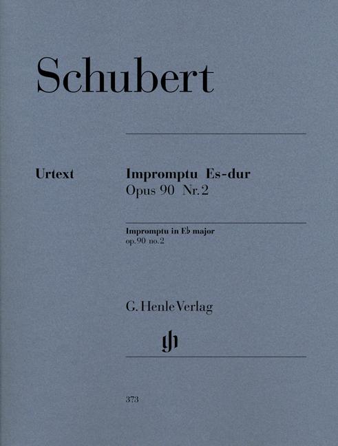 Impromptu E flat major op. 90,2 D 899