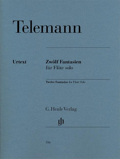 Twelve Fantasias for Flute Solo TWV 40:2-13