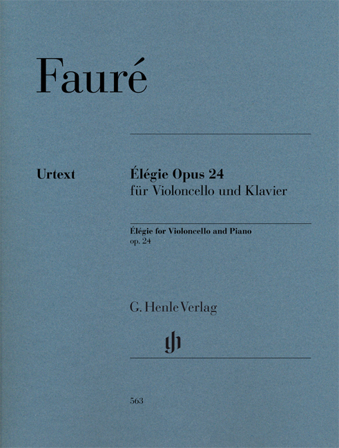 Élégie for Violoncello and Piano op. 24