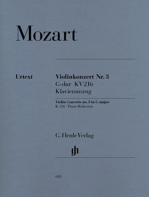 Violin Concerto no. 3 in G major K. 216