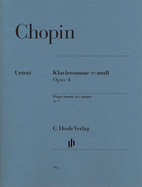 Piano Sonata in c minor op. 4