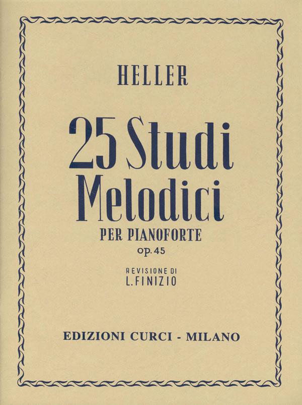 25 Studi melodici op. 45