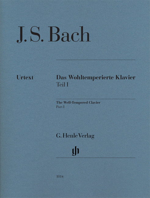 Well-Tempered Clavier, part I without fingering