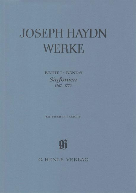 Sinfonias 1767-1772
