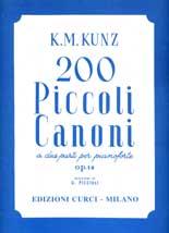 200 Piccoli canoni a due parti op. 14