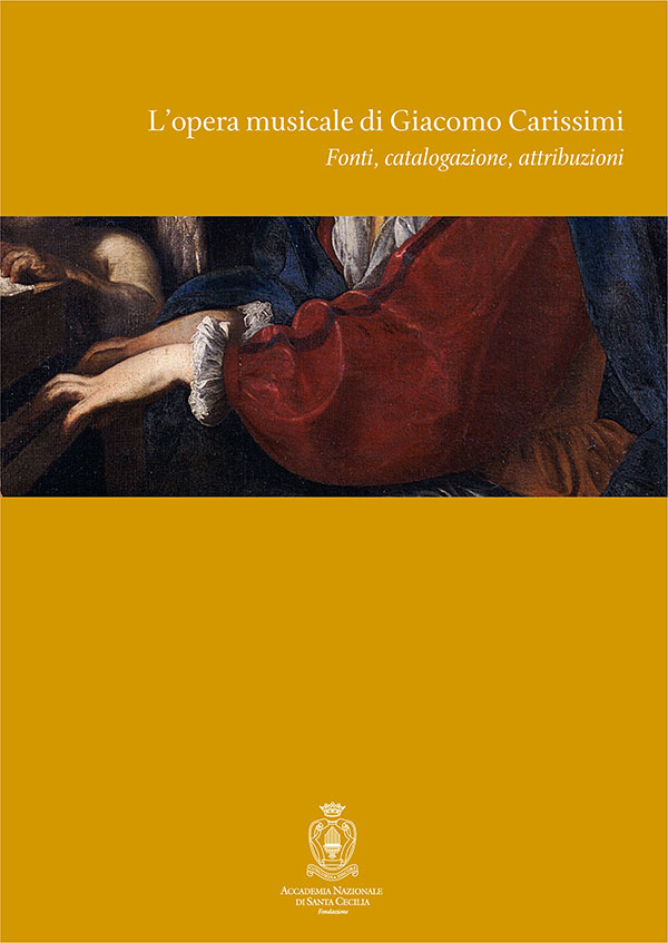 L'opera musicale di Giacomo Carissimi