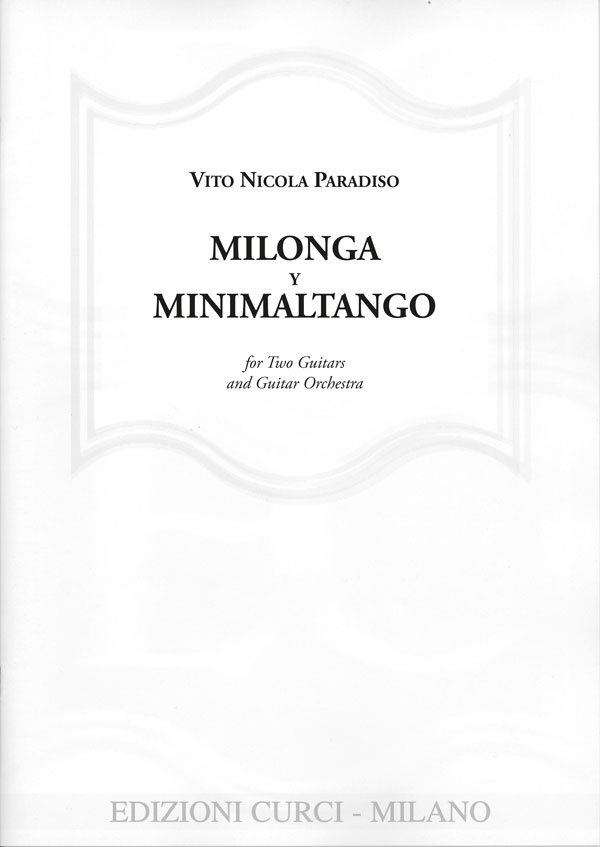 Milonga y Minimaltango