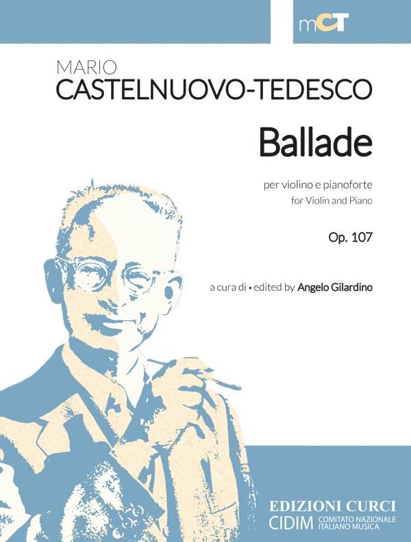 Ballade per violino e pianoforte op. 107