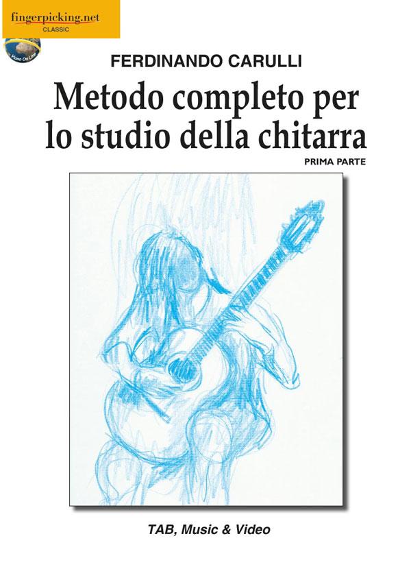 Metodo completo per lo studio della chitarra - Prima parte