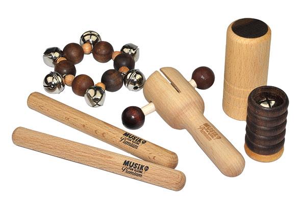 Set di maxi percussioni (6 pz.)