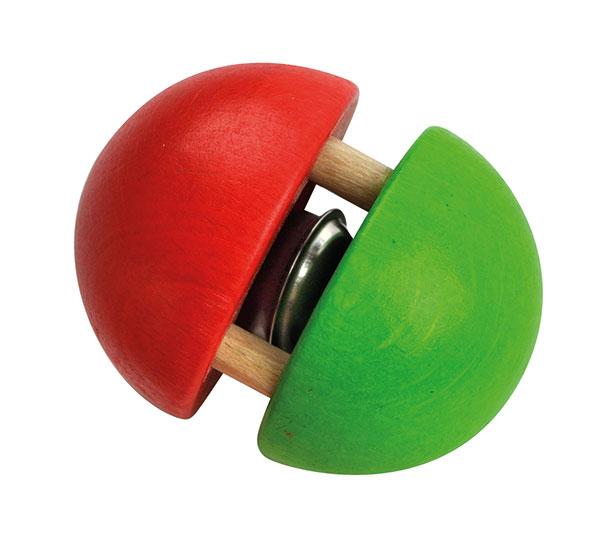 Biglia verde rossa