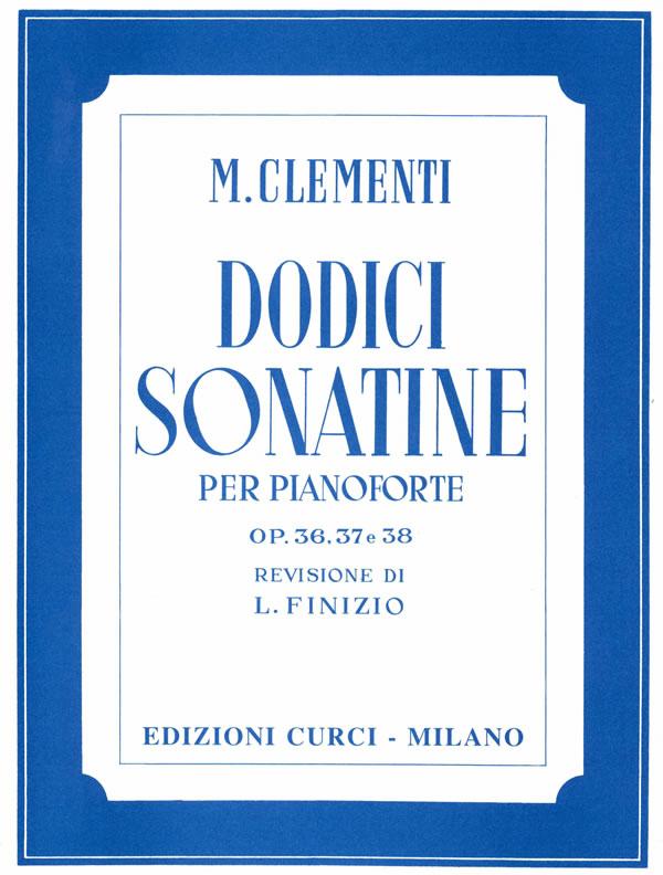 12 Sonatine op. 36, 37, 38