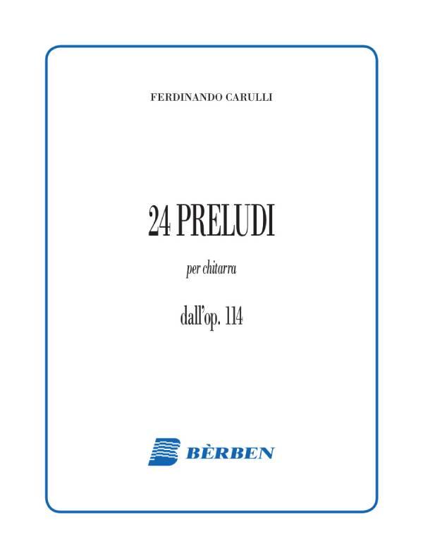 Ventiquattro preludi dall'op. 114