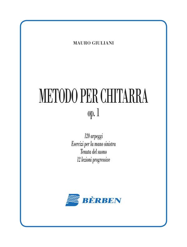 Metodo per chitarra op. 1
