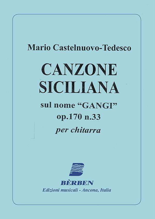 Canzone siciliana op. 170 n. 33