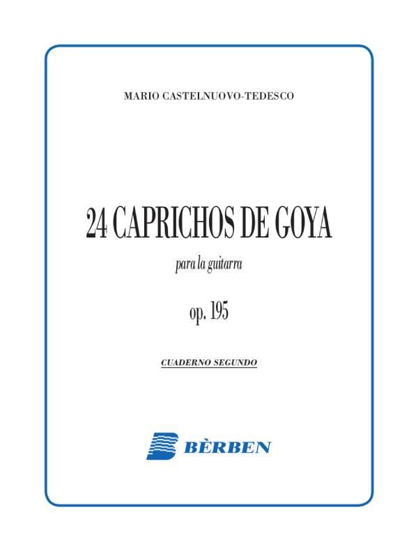 24 caprichos de Goya op. 195