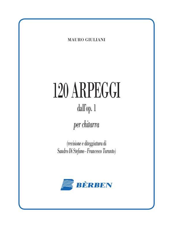 Centoventi arpeggi dall'op. 1