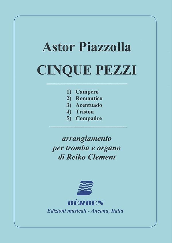 Cinco piezas versione per tromba e organo