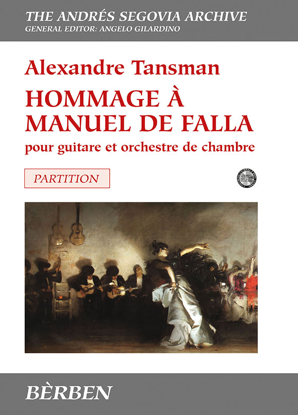 Hommage à Manuel de Falla pour guitare et orchestre da chambre