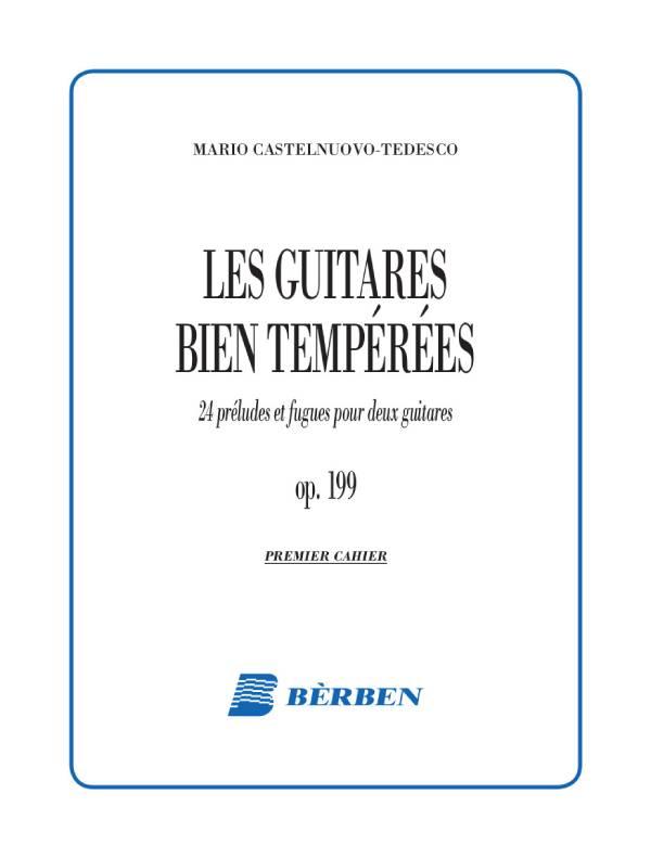 Les guitares bien temperees pour deux guitares op. 199
