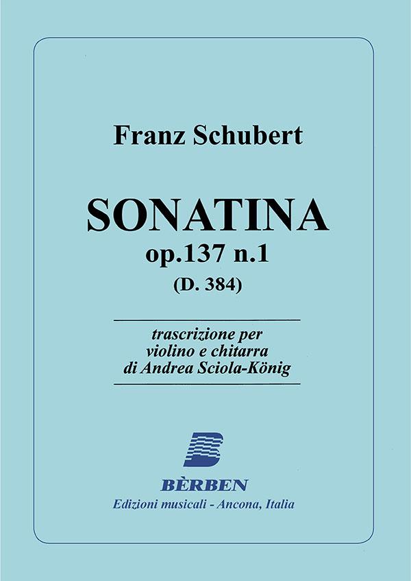 Sonatina op.137 n.1 (D.384)