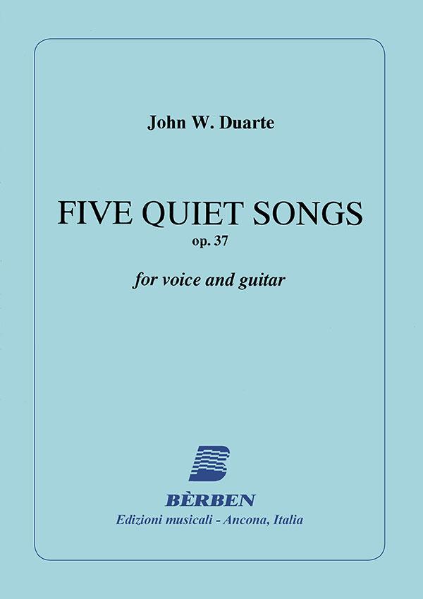 Five Quiet Songs