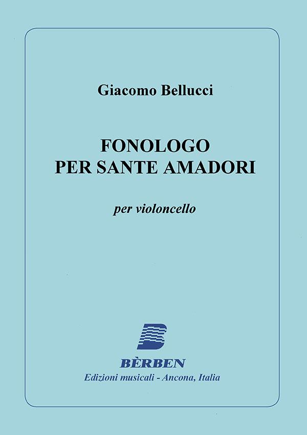 Fonologo per Sante Amadori