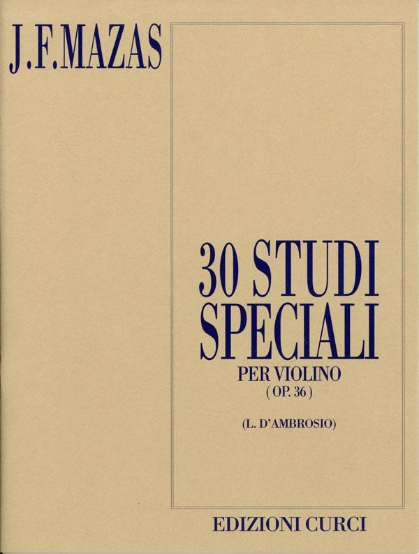 30 Studi speciali op. 36