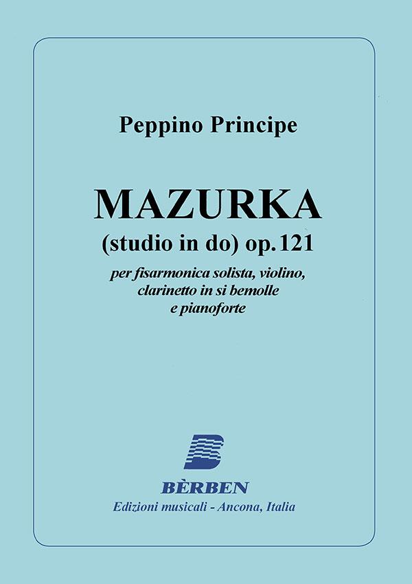 Mazurka (studio in Do) op. 121