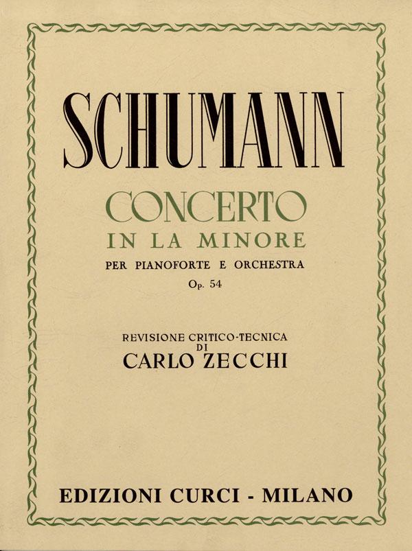 Concerto in La min. op. 54 per pianoforte e orchestra.