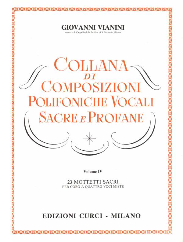 Composizioni polifoniche vocali sacre e profane